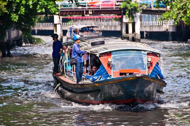 Klong Boat   © Mark Fischer/Flickr