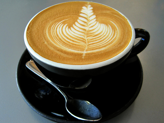 Artistic Coffee from French Press Coffee in Santa Barbara, CA | © MamaOT/Flickr