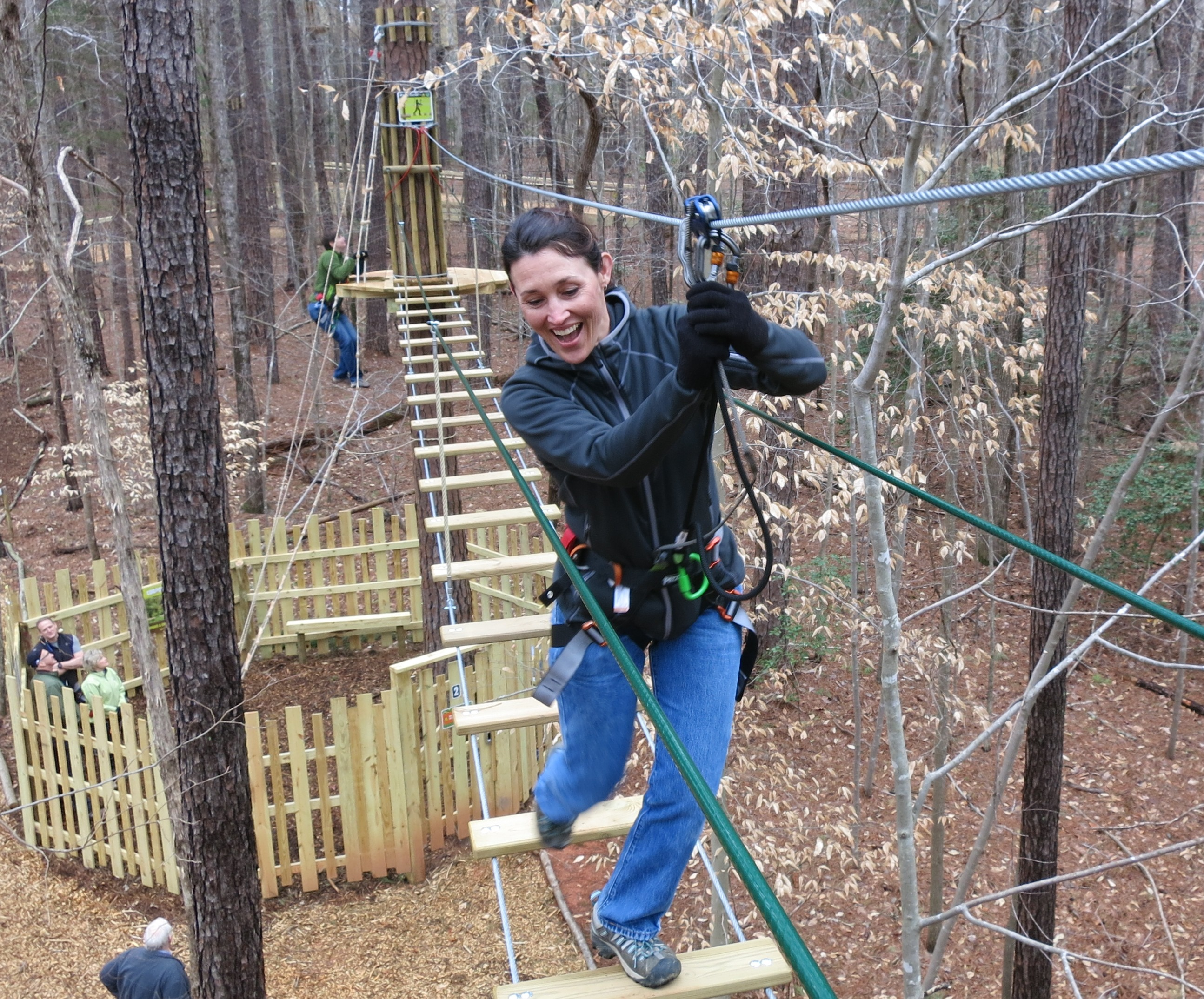 Go Ape Treetop Adventure Course   Courtesy of Blue Jay Point