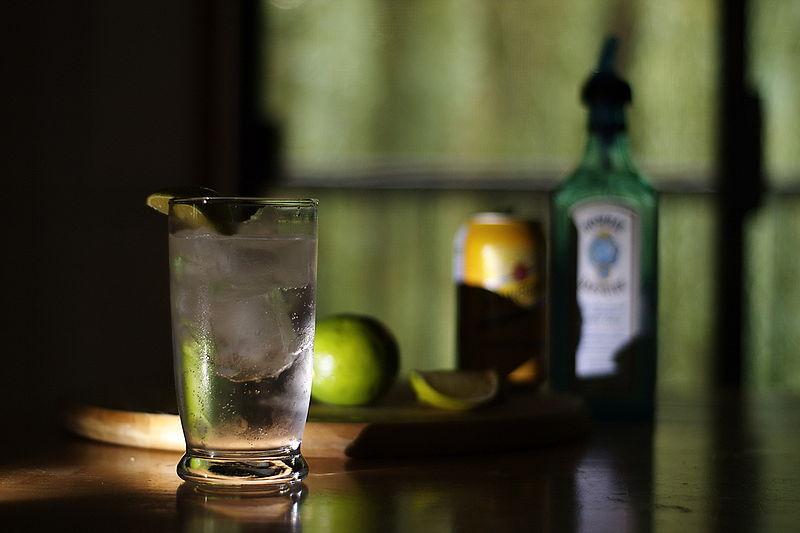 Gin and Tonic|© Kyle Flood/WikiCommons