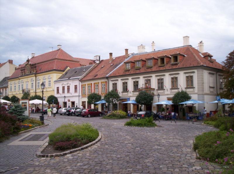 Veszprém old town | ©Dávid Nagy/wikicommons