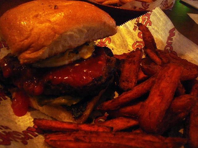 Huevos Rancheros Burger from Mugshots | © Shoshanah/Flickr