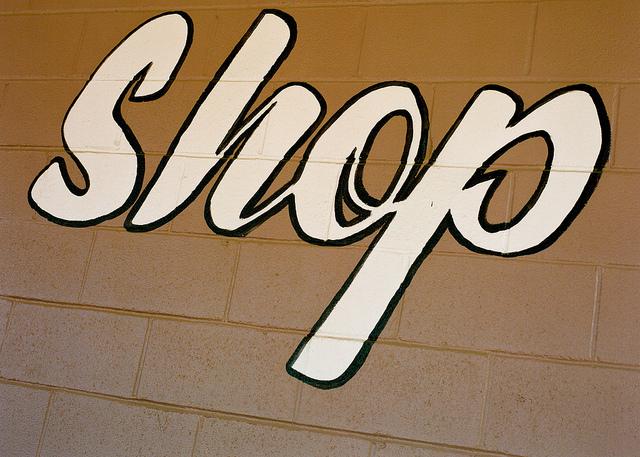 Shop sign I © Steve Snodgrass/Flickr
