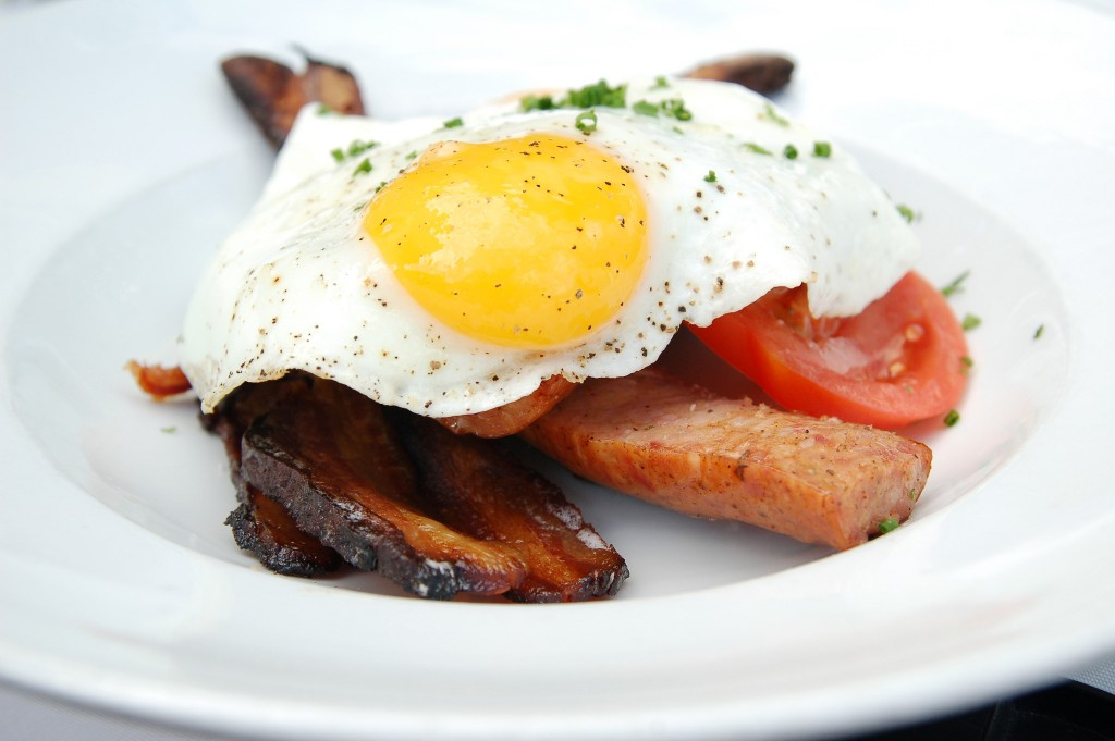 Full-English Breakfast | ©Dana McMahan/Flickr
