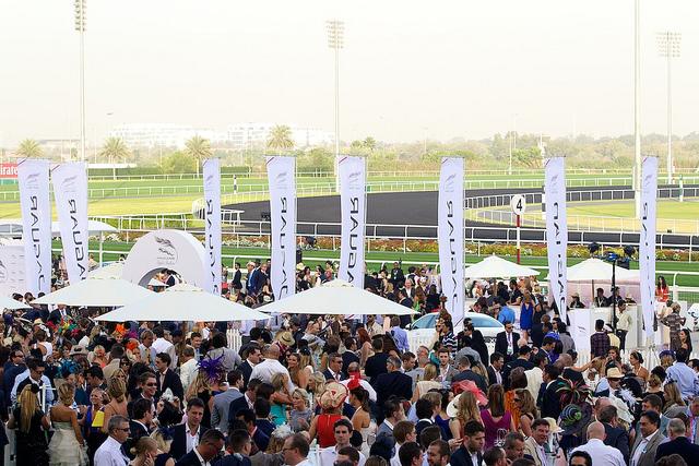 Racecourse [ © Jaguar MENA/Wikimedia]