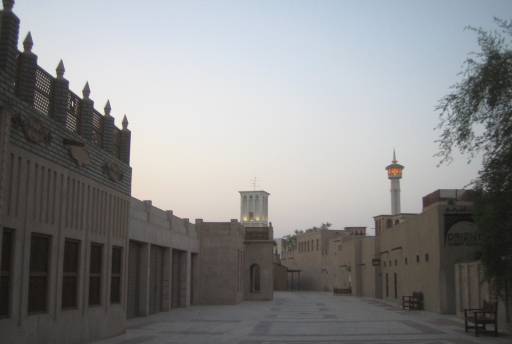 Al_Bastakiya_Dubai [ © jensimon7/Wikimedia ]