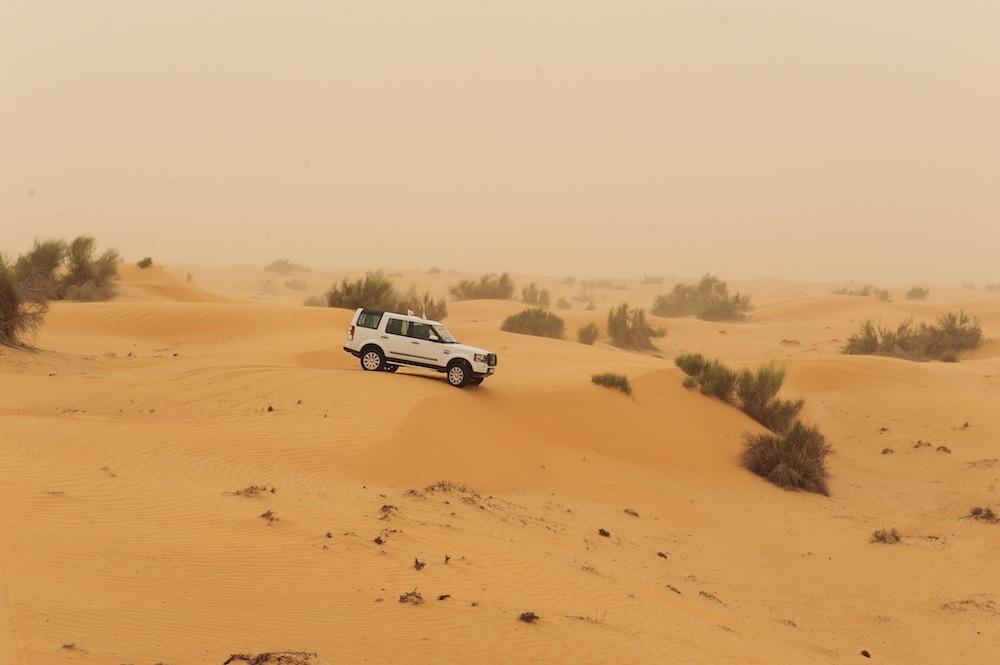 Desert safari [ © Land Rover MENA/Wikimedia]