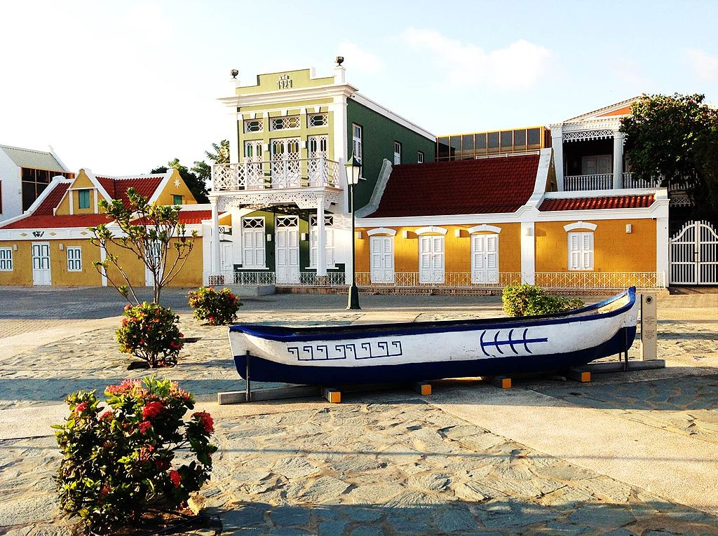 A panoramic view of the Archaeological Museum of Aruba (Schelpstraat, Oranjestad). | ©Edward M Erasmus/WikiCommons
