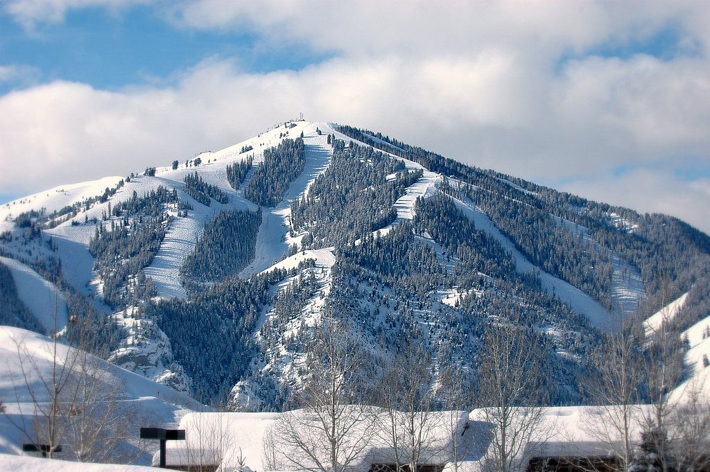 Bald Mountain in Sun Valley | © Greg L. Wright/WikiCommons