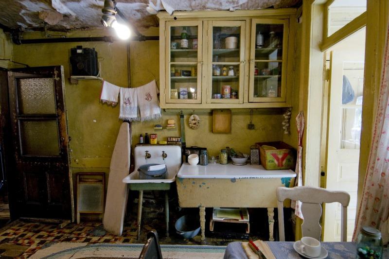 Baldizzi kitchen   © Keiko Niwa