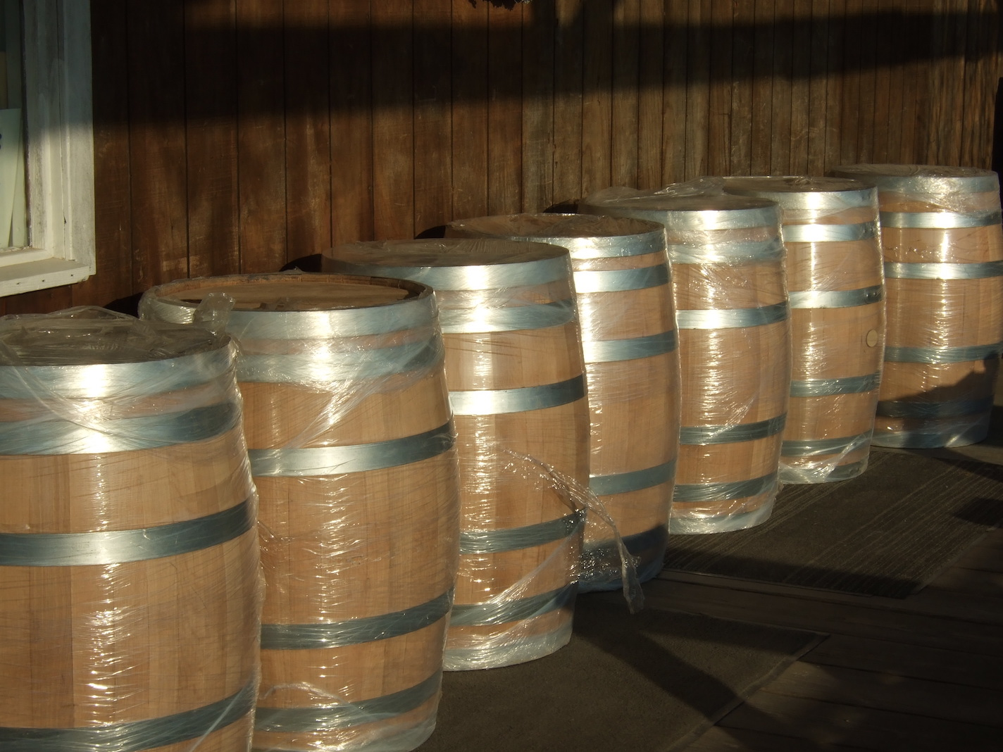 Barrel Delivery | Courtesy of Robller Vineyard & Winery
