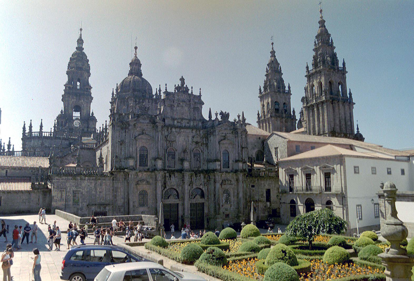 praça da catedral de Santiago de Compostela |  © NielsB / Wikicommons