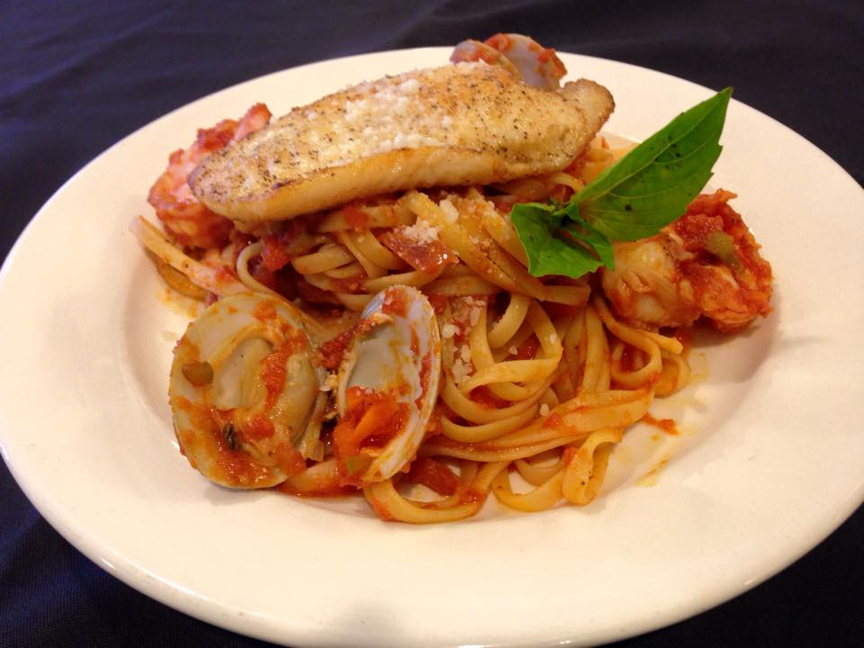 Seafood Bolognese | Courtesy of Dock of the Bay
