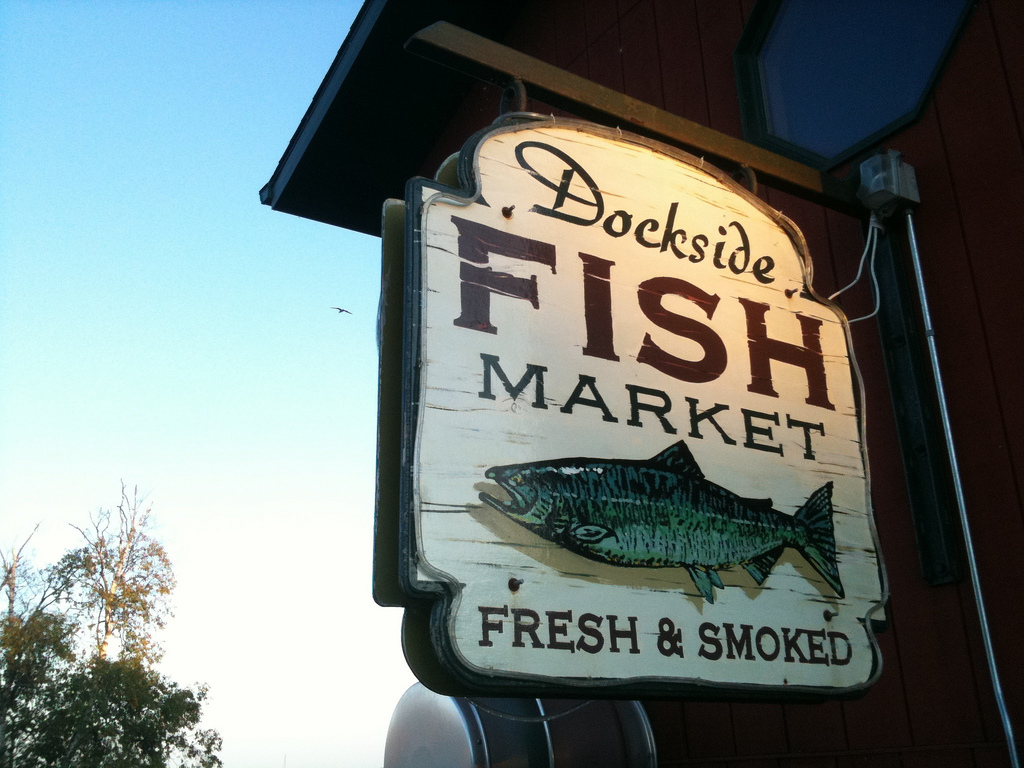 Dockside Fish Market | © Patty Carlson/Flickr