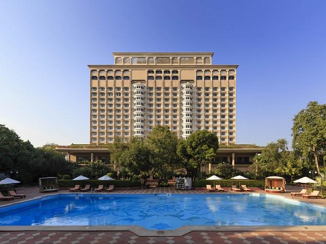 Facade 112013   © Taj Mahal Hotel, New Delhi/WikiCommons