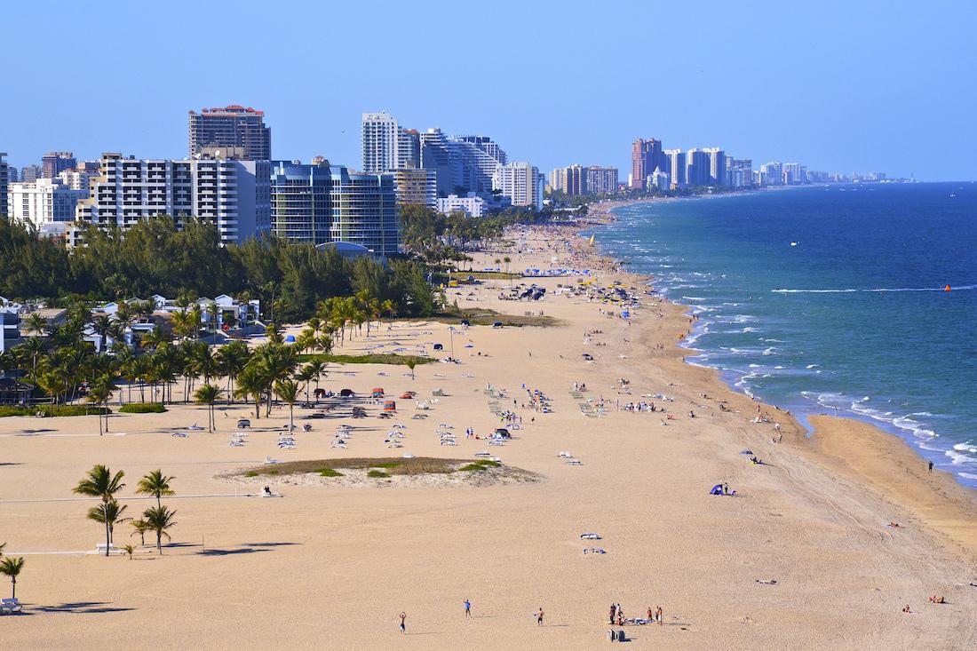 Dania Beach To Fort Lauderdale
