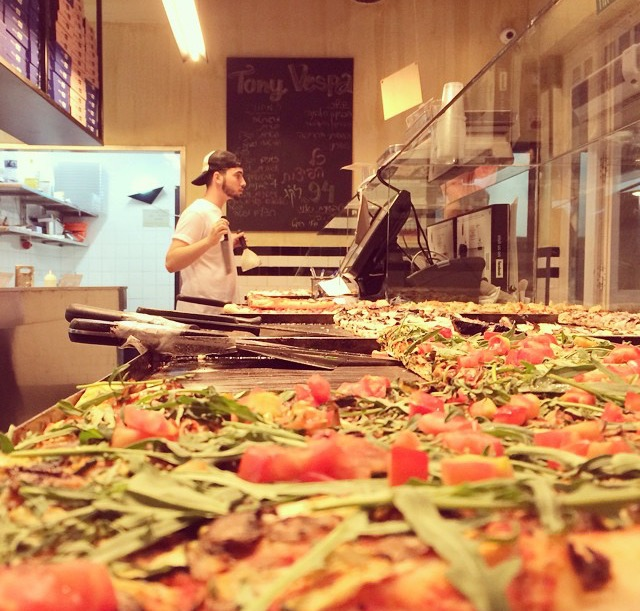 Tony Vespa Pizza Courtesy of Tony Vespa