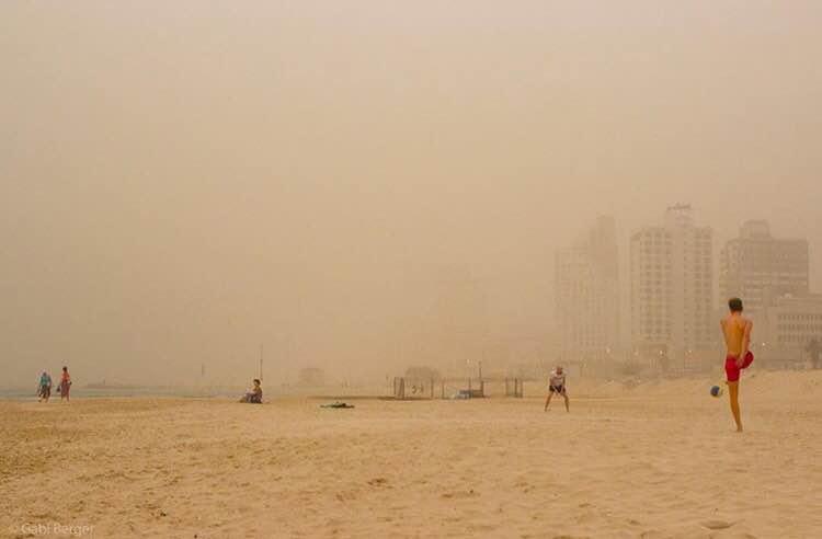 Sandy beach by Gabi Berger