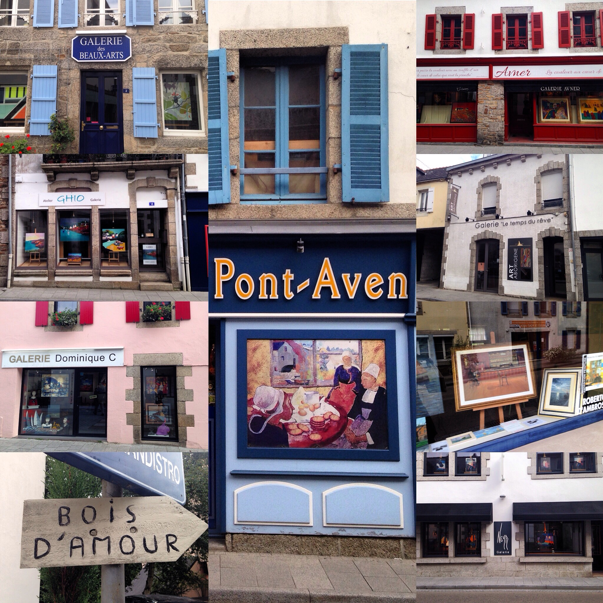 Pont-Aven Art Galleries | © Hristos Fleturis