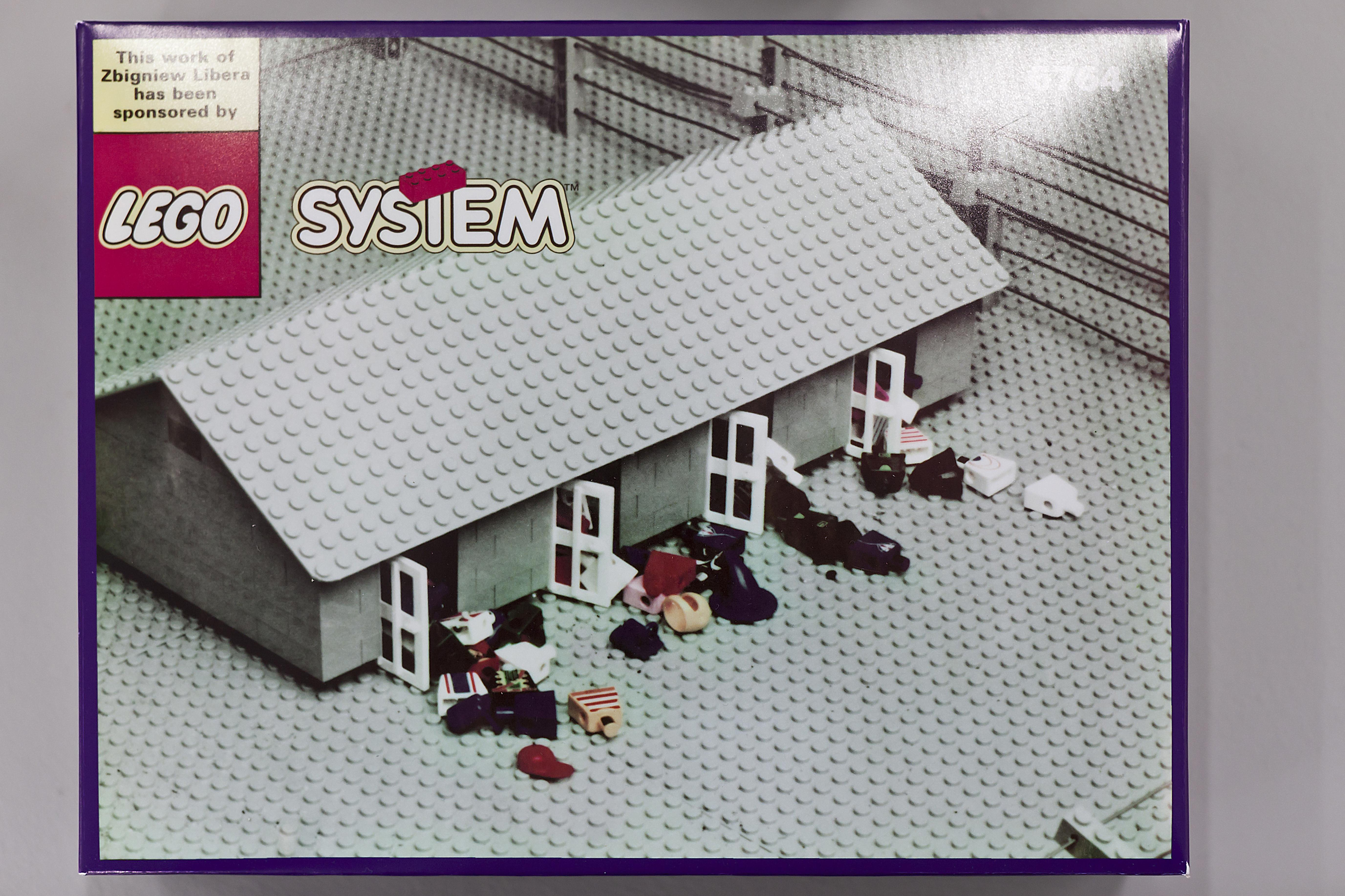 Kitchen Storage Idea Inside Zbigniew Libera S Controversial Lego Concentration Camp