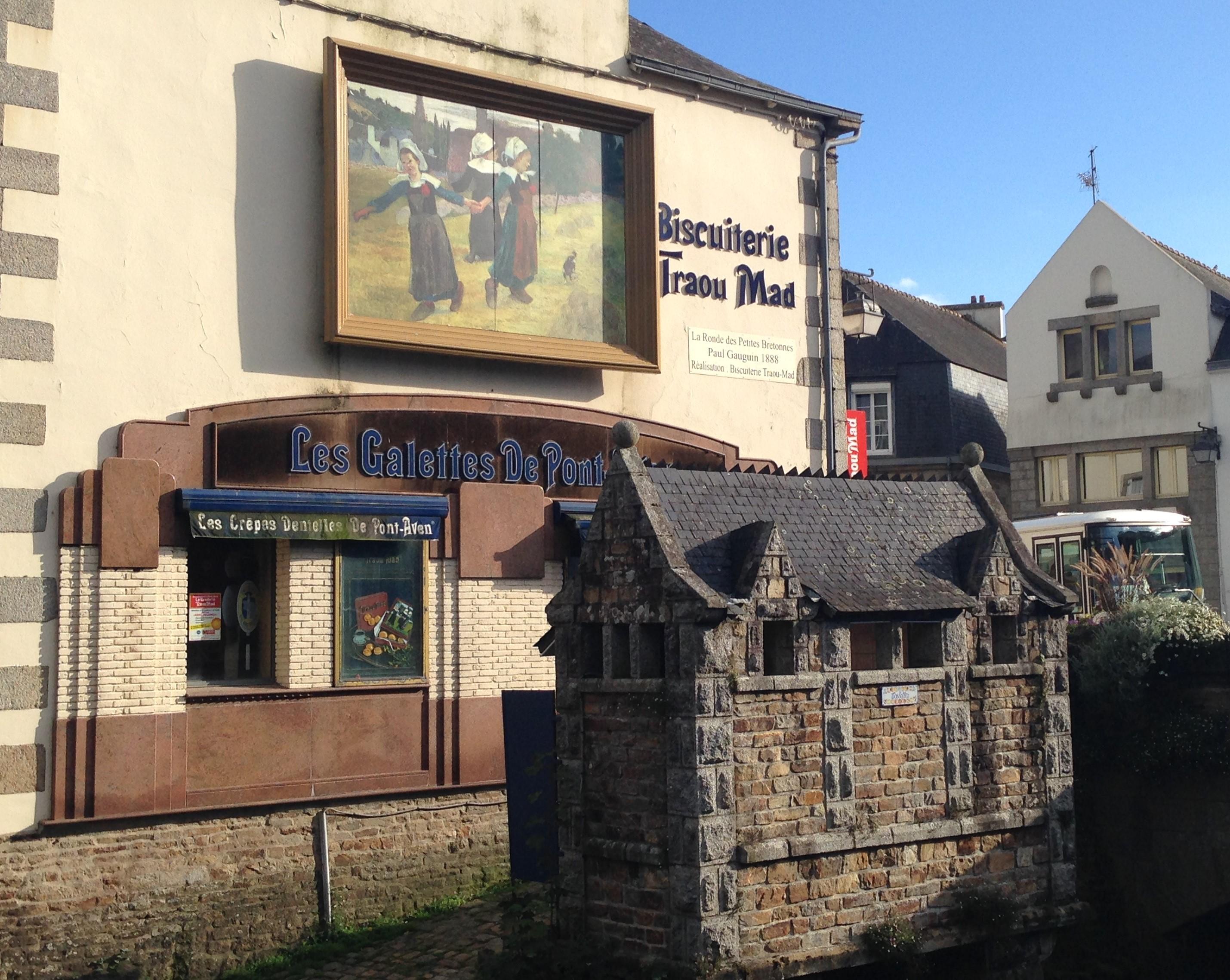 Paul Gauguin - La Ronde de Petites Bretonnes in Pont-Aven | © Hristos Fleturis
