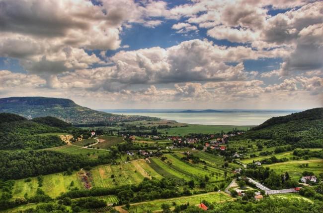 Landscape at Balaton / ©txd / wikicommons