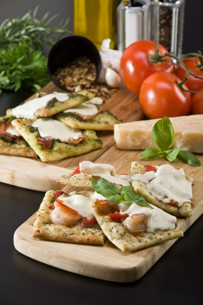 Flatbreads | Courtesy of JoJack's Cafe