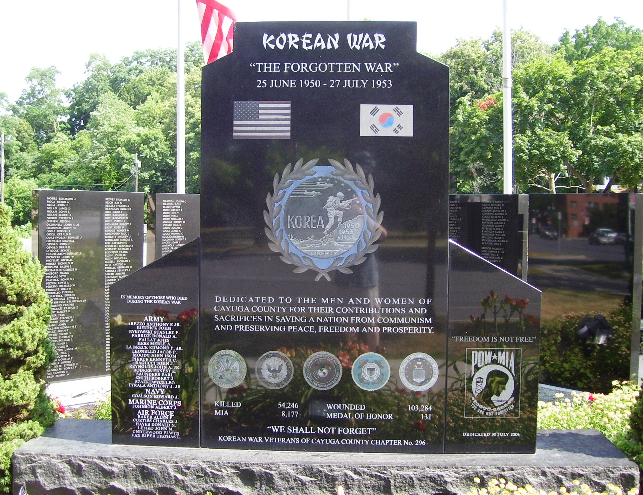 © Beyond My Ken/Korean War Memorial/Wiki Commons