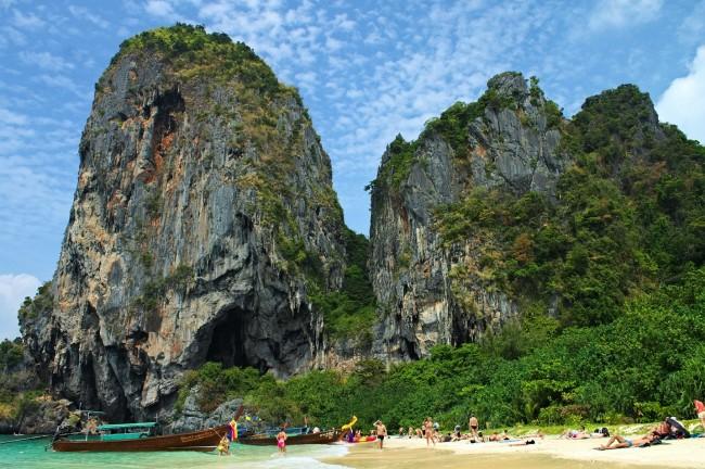 Thaïlande - Krabi - Railay Beach | © Nicolas Vollmer/Flickr