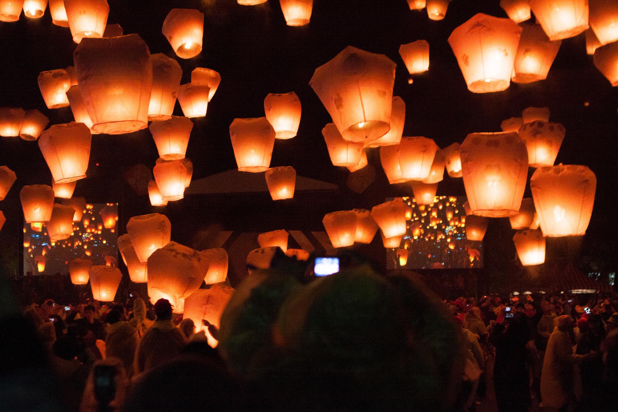 Pingxi Sky Lantern Festival © Jirka Matousek/Flickr