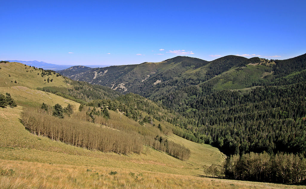 Lincoln National Forest | © uıɐɾ ʞ ʇɐɯɐs/WikimediaCommons