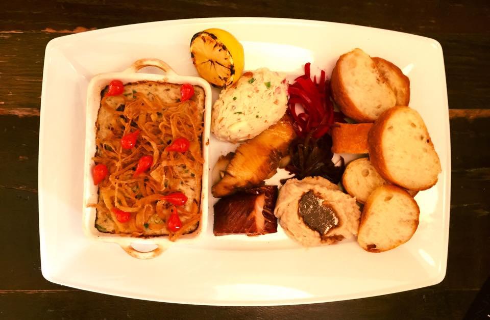 An Assortment of Smoked Fish   Courtesy of Mokomandy