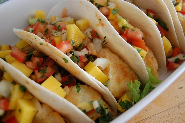 Tacos with Mango Salsa   ©jpellgen/Flickr