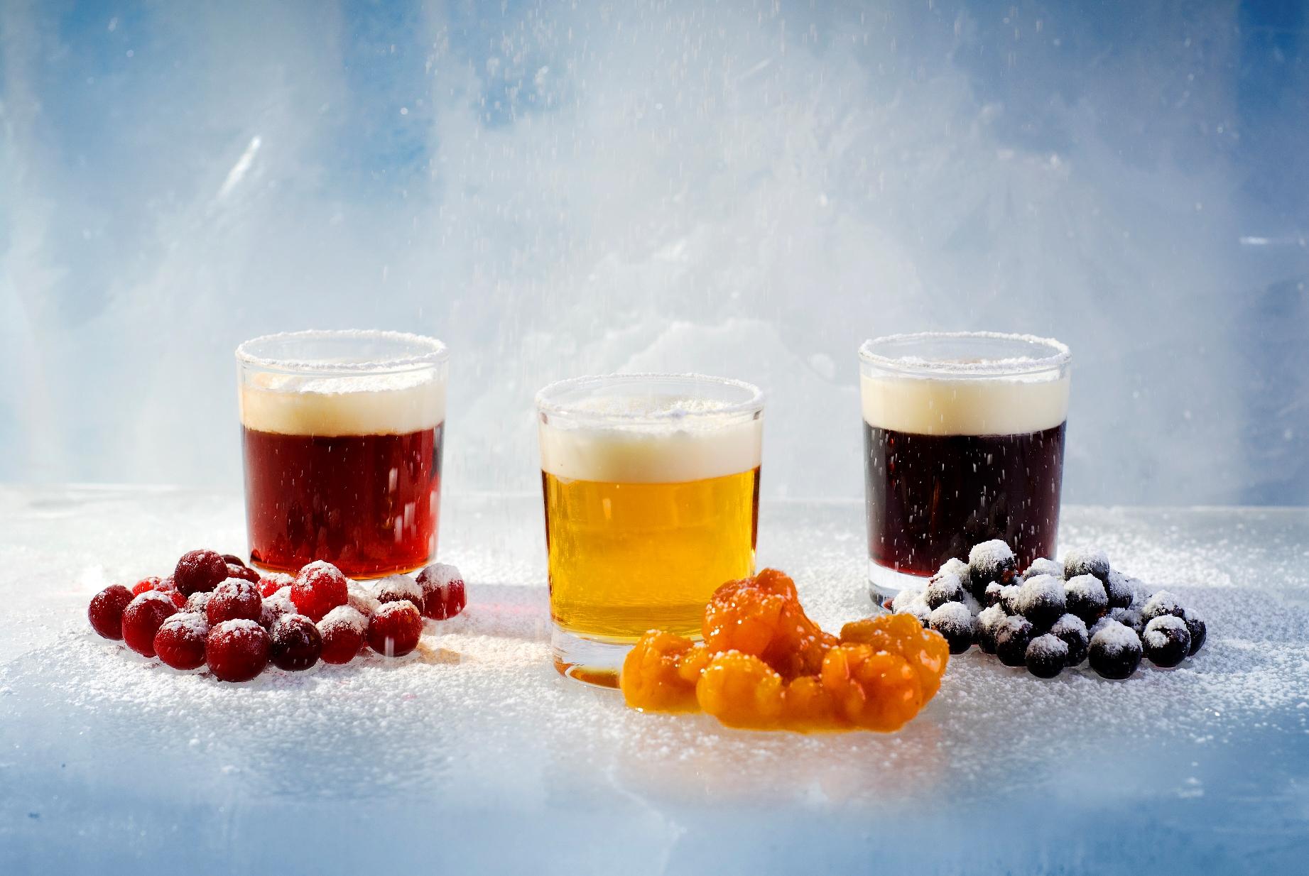 Nili berries (lingonberries, cloudberries, bilberries) | Image Courtesy of Nili Restaurant