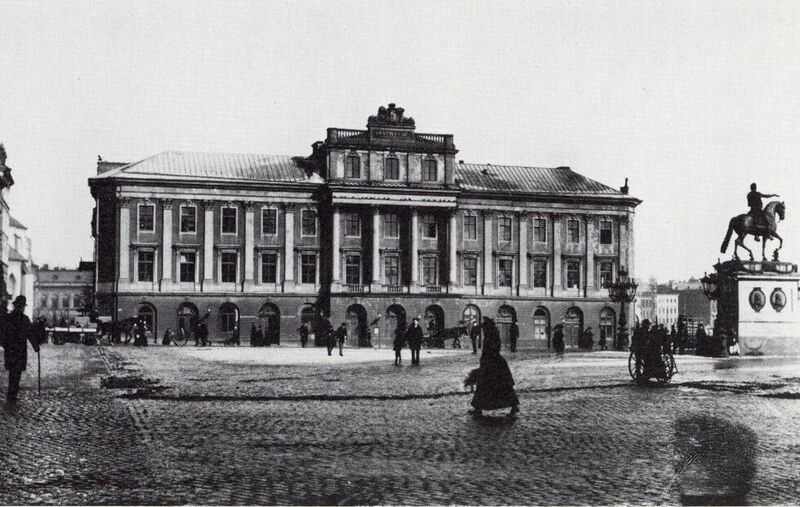 King Gustav III's Opera House In 1880 | © okänt/WikiCommons