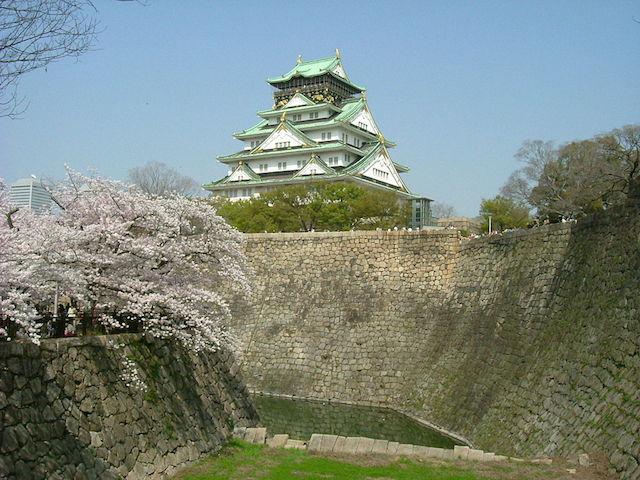 Osaka Castle |©Midori/Wikicommons