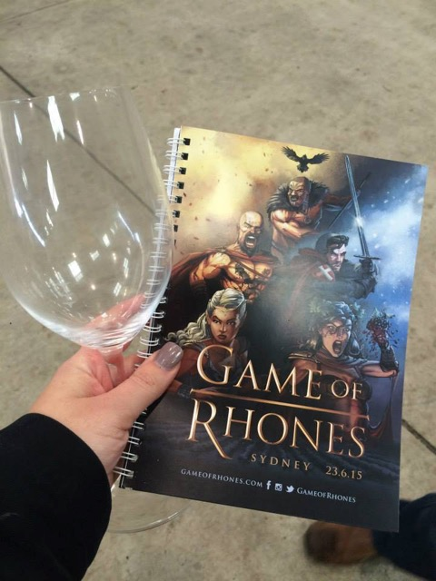 Game of Rhones © Courtney Jones