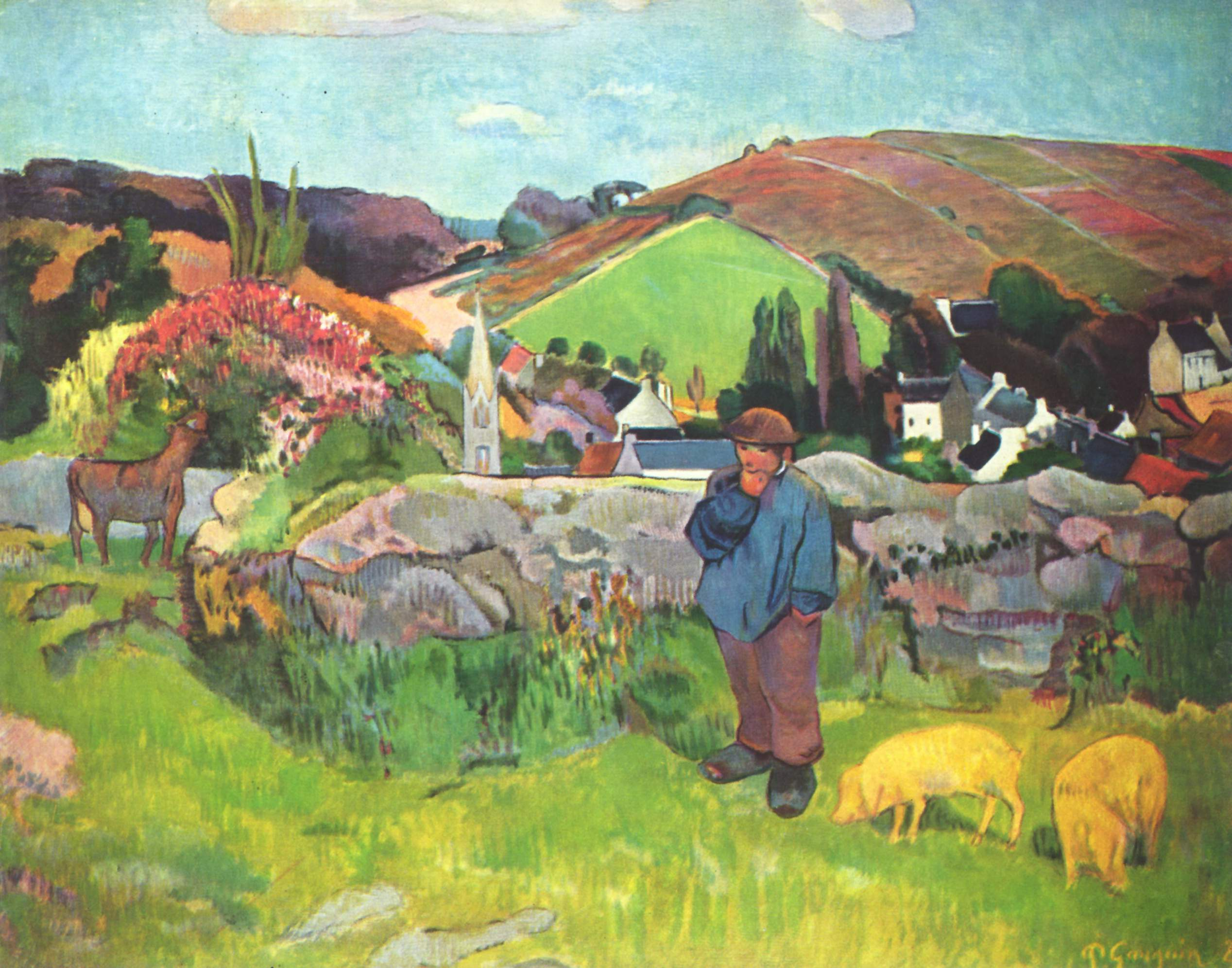 Paul Gauguin - The Swineherd | © WikiCommons