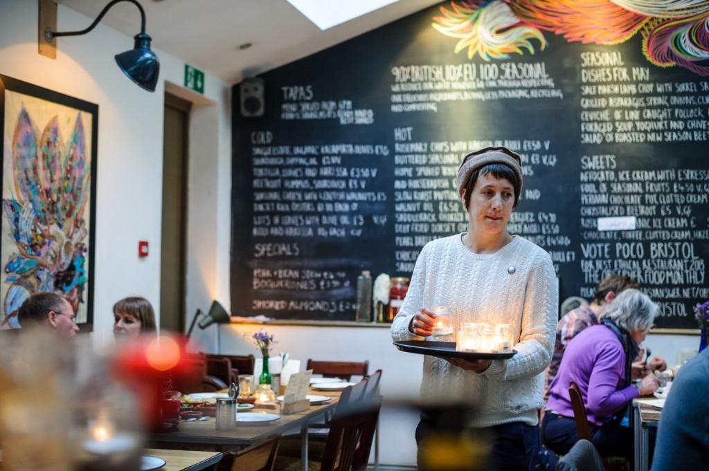 Tom Hunt at Poco | Courtesy of Poco Café Bar