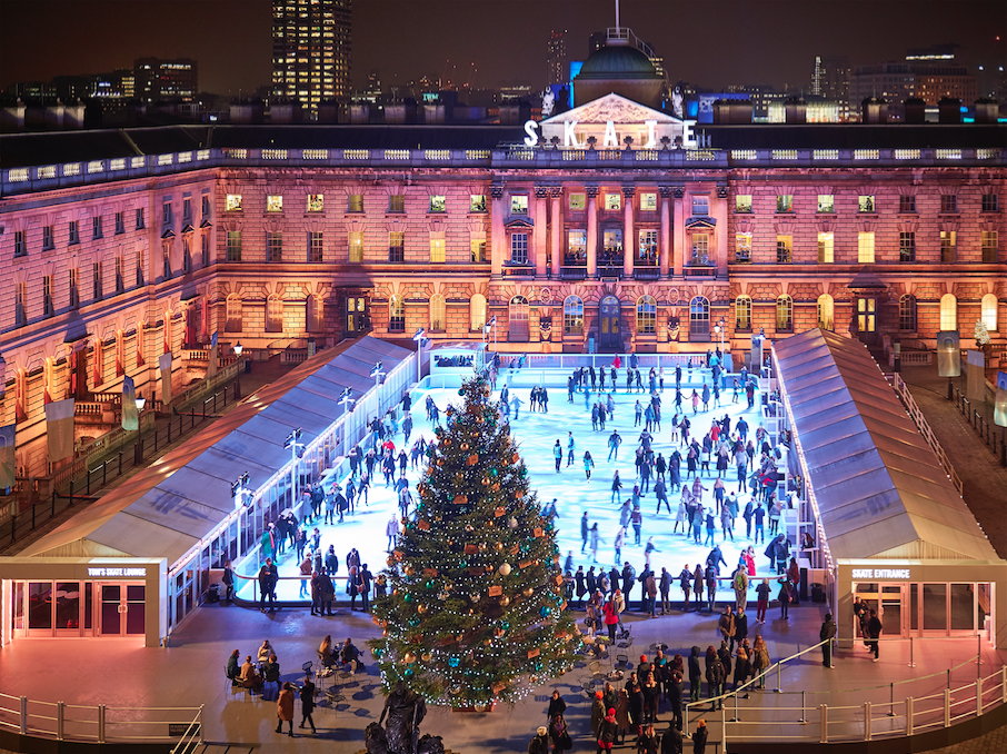 Skate at Somerset House with Fortnum & Mason | Courtesy of Somerset House © James Bryant