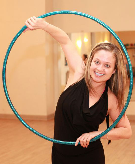 Mandy Harvey, owner and founder of Sugar Hoops | Courtesy of Sugar Hoops