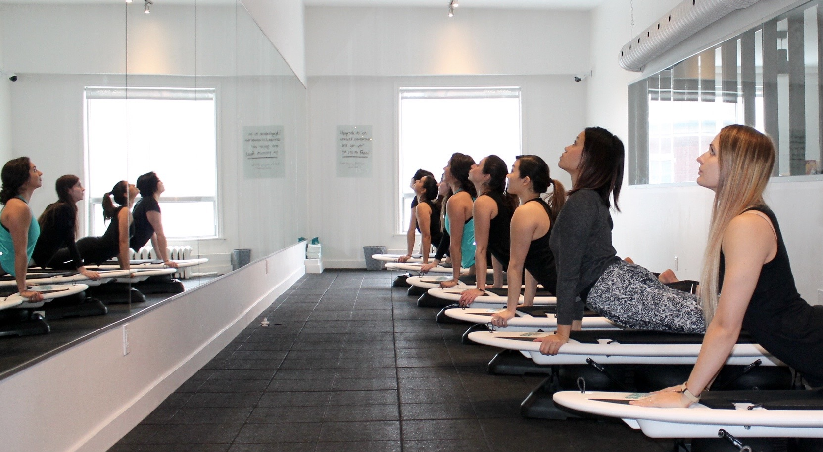 SURFSET class in action | Courtesy of SURFSET Toronto