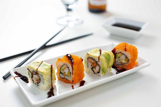 Sushi Toppings | © russavia/Wikicommons