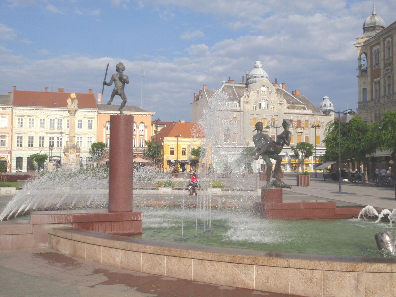 Szombathely, Main Square/©Pan Peter/wikicommons