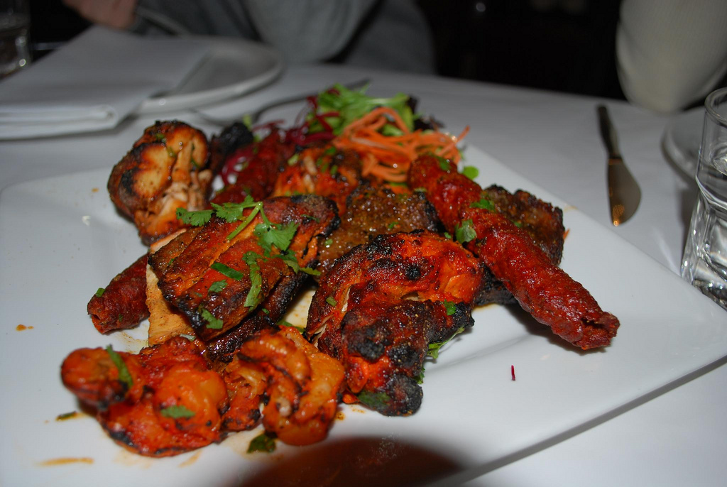 Tandoori Platter| © Alpha/Flickr