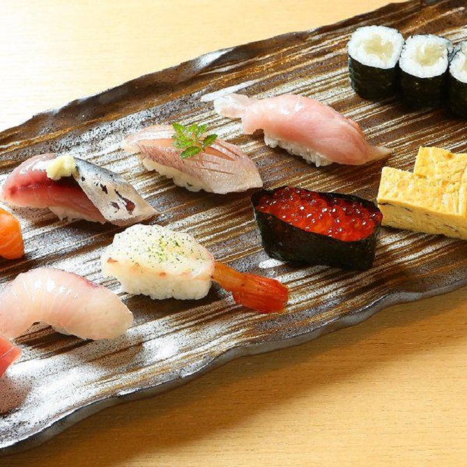Selection of Sushi | Courtesy of Tokyo Bistro