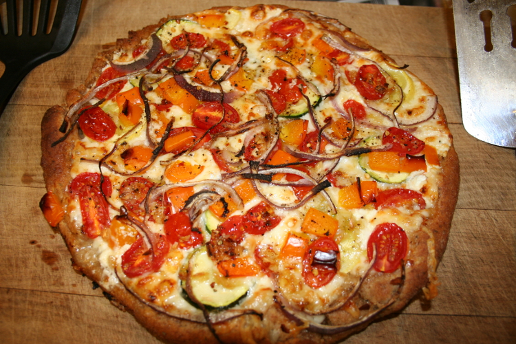 Vegetarian pizza | © Food recipes/WikiCommons
