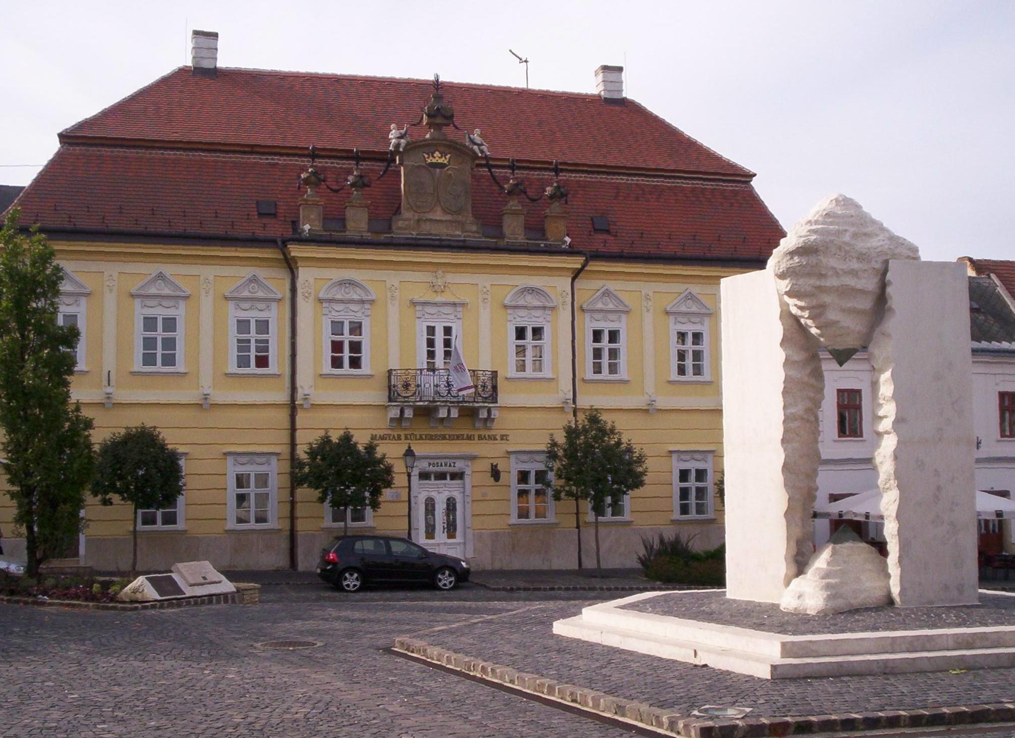 Veszprém old town centre/©ND/wikicommons