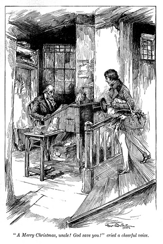 'A Christmas Carol and The Cricket on the hearth (1905) | © Internet Archive (CircaSassy)/Flickr Upload