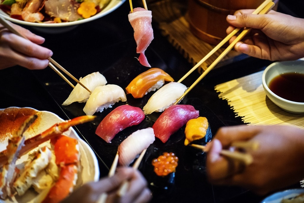 Enjoy sushi in one of the best restaurants in KL | © Pixabay